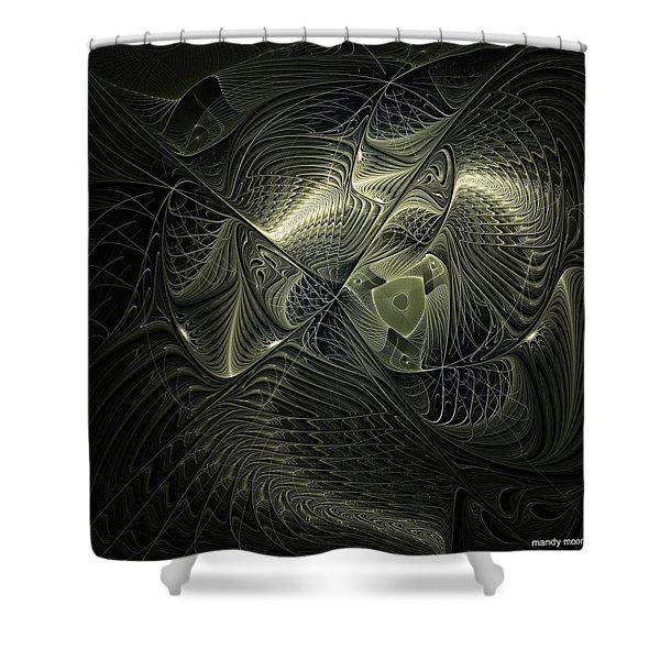 Piscean I Shower Curtain