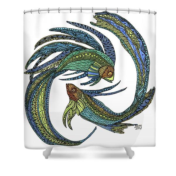 Pisces Shower Curtain