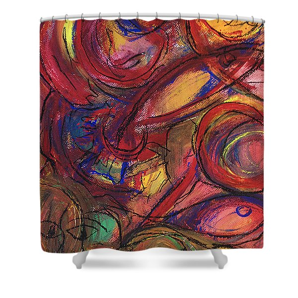 Pisces Symbalic Shower Curtain