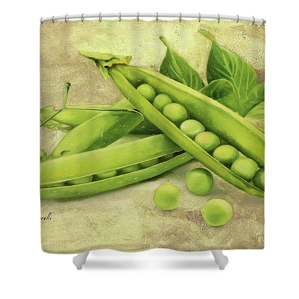Piselli Shower Curtain