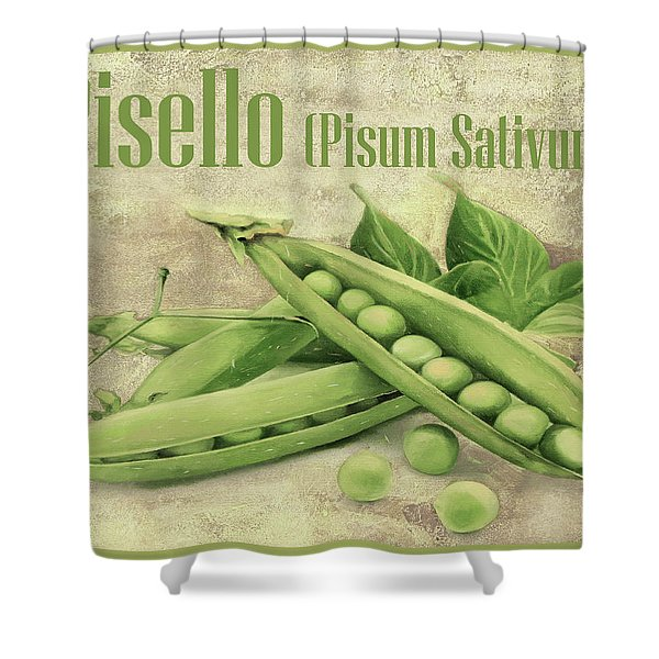 Pisello Pisum Sativum Shower Curtain