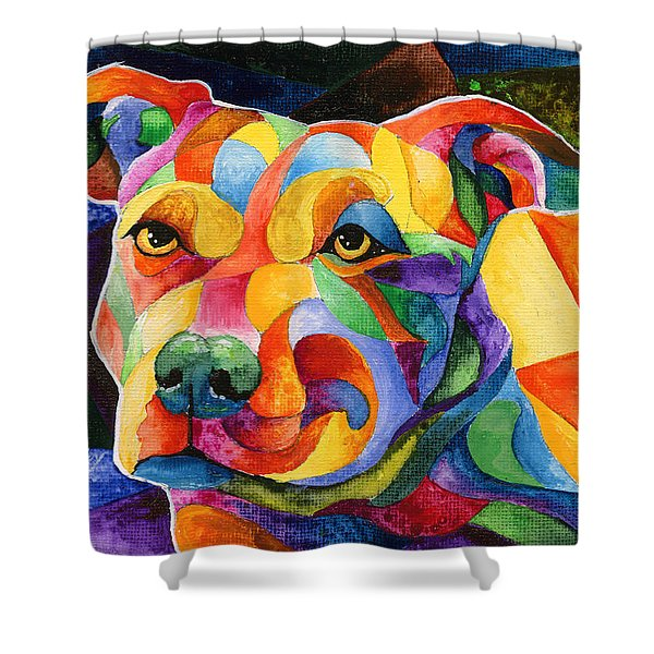 Pit Bull 1 Shower Curtain