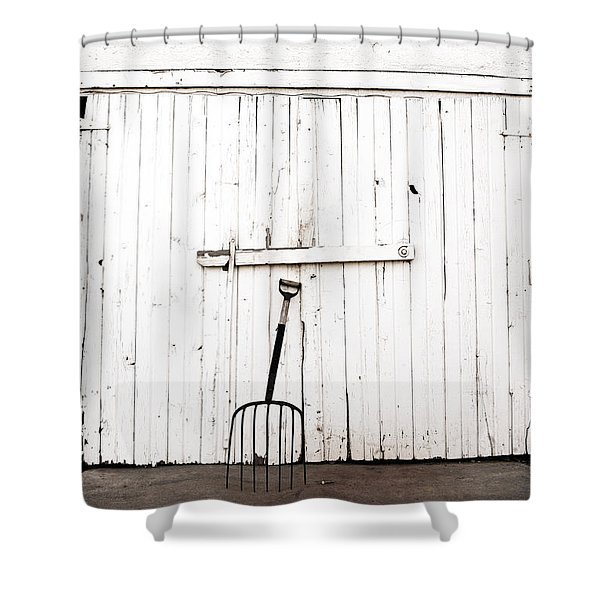 Pitch Fork Shower Curtain