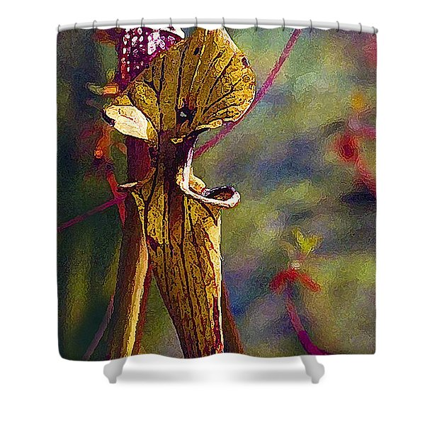 Pitcher Plant Shower Curtain