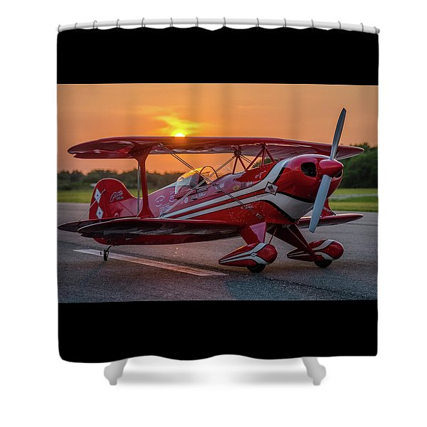 Pitts Sunset Shower Curtain