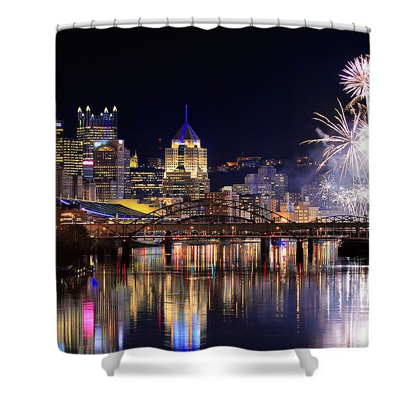 Pittsburgh 1  Shower Curtain