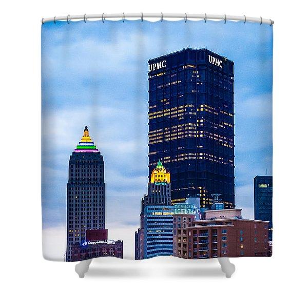 Pittsburgh - 7012 Shower Curtain