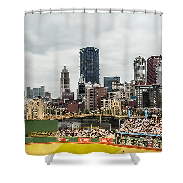 Pittsburgh/pnc Park - 6986 Shower Curtain