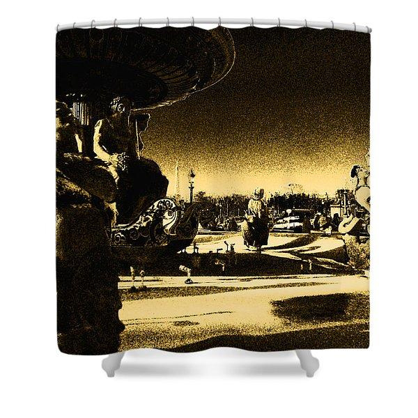 Place De La Concorde Shower Curtain