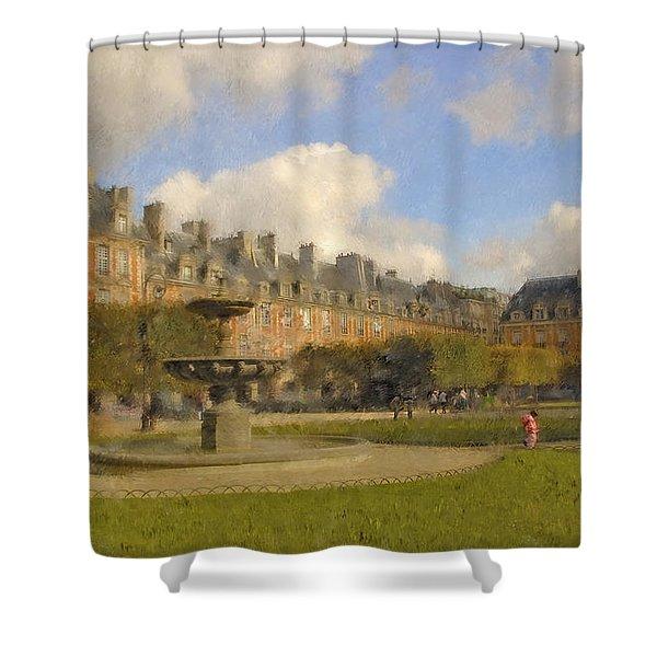 Place Des Vosges Shower Curtain
