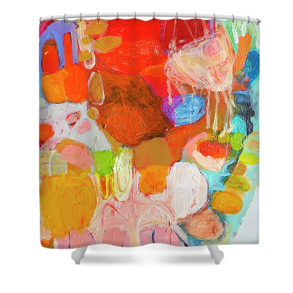 Place In My Art Shower Curtain
