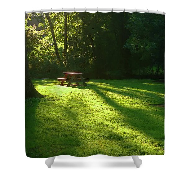 Place Of Honor Shower Curtain