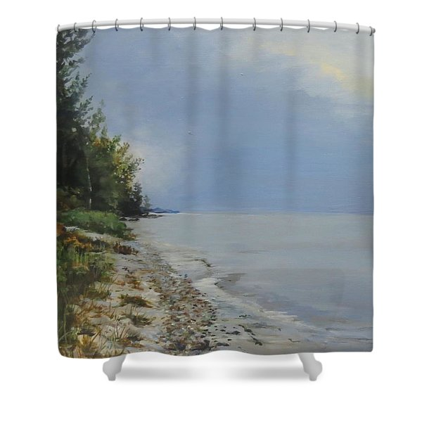 Places We've Been Shower Curtain