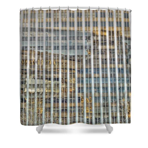 Plaid Light In La Shower Curtain