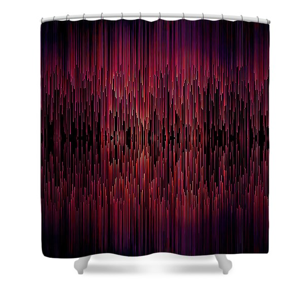 Planet Pixel Carnival Dreams Shower Curtain