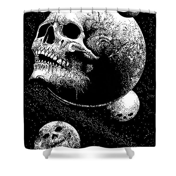 Planetary Decay Shower Curtain