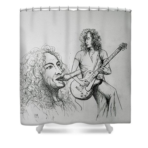 Plant And Page Shower Curtain