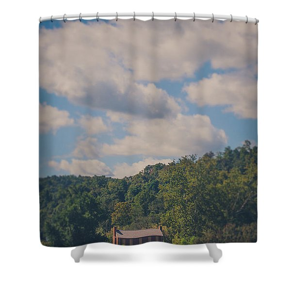 Plantation House Shower Curtain