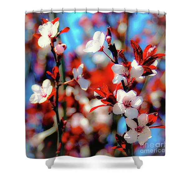 Plants And Flowers Shower Curtain