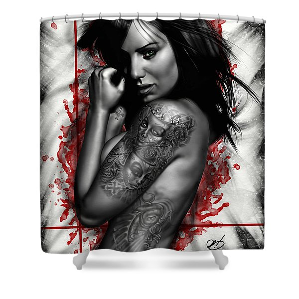 Plata O Plomo Shower Curtain