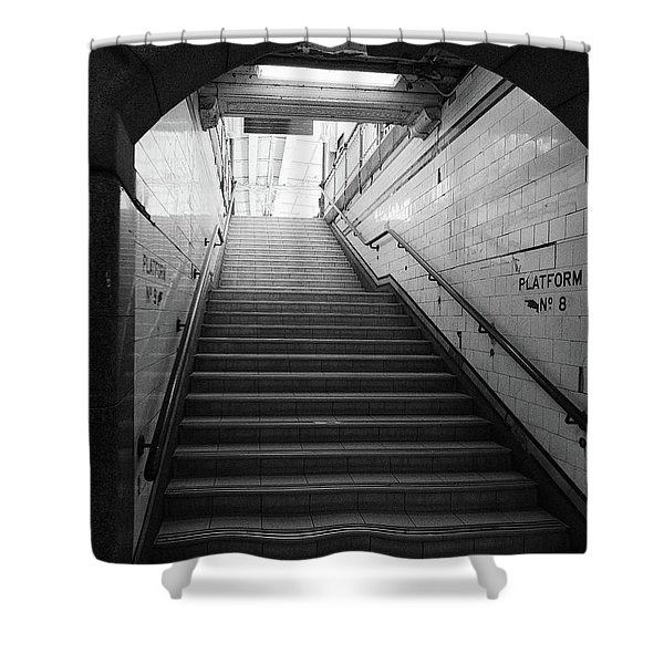 Platform 8 Shower Curtain