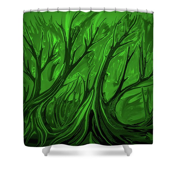 Play Green #h6 Shower Curtain