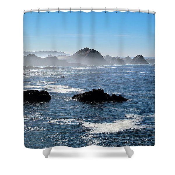 Play Misty For Me Shower Curtain