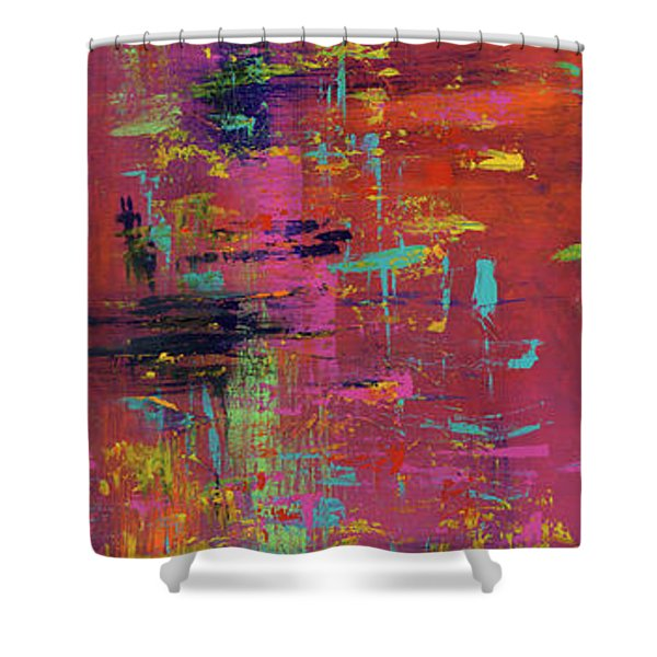 Play Of Passion Shower Curtain