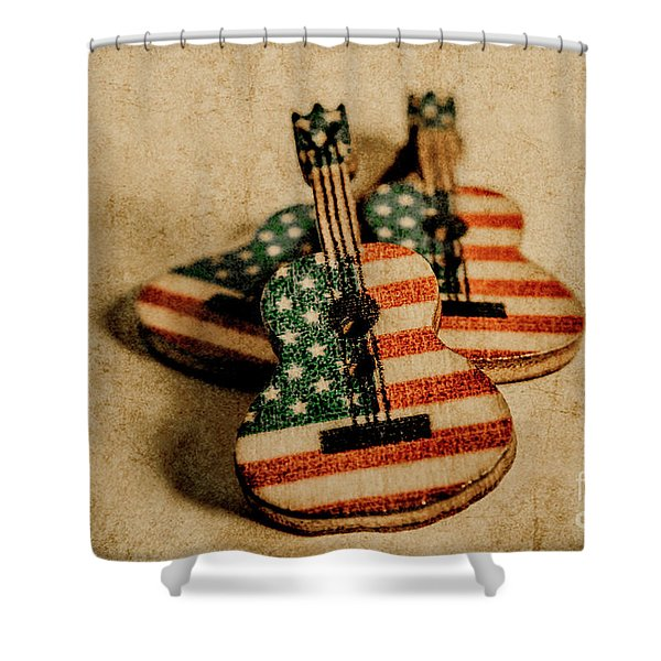 Played In America Shower Curtain