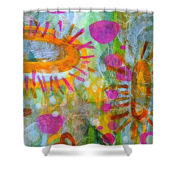 Playground In The Sea Shower Curtain
