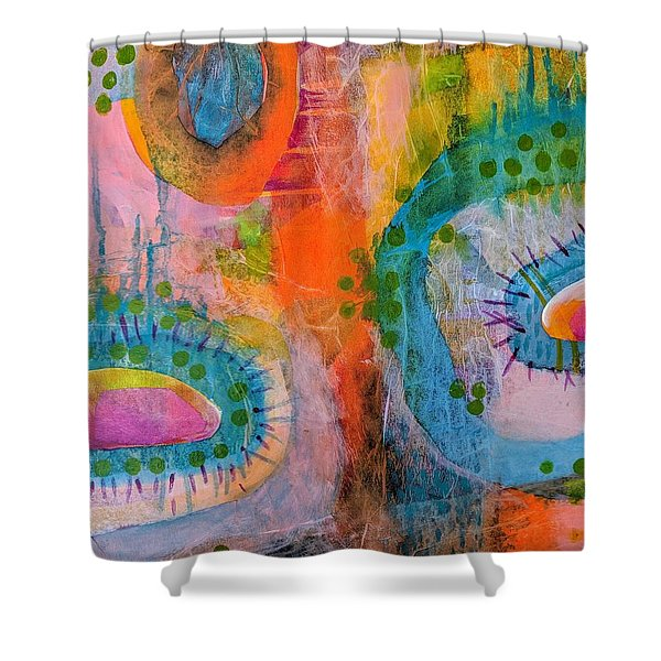 Playground In The Sea II Shower Curtain