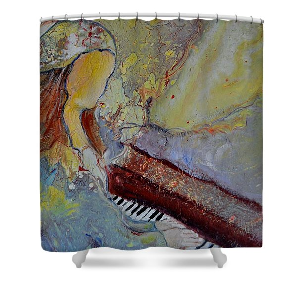 Playing By Heart Shower Curtain