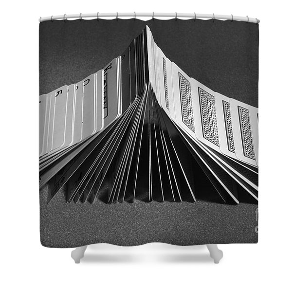 Playing Cards Domino Shower Curtain