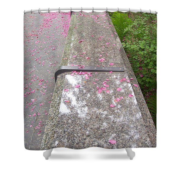 Please Be Seated Shower Curtain