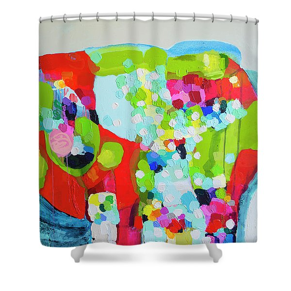 Please Don't Tell My Secrets Shower Curtain