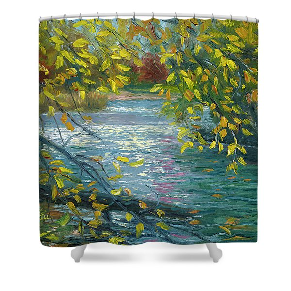 Plein Air - Chicopee State Park Shower Curtain
