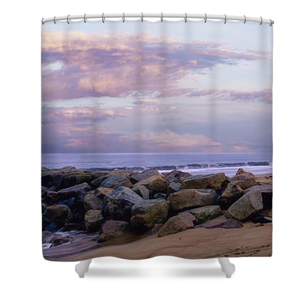 Plum Island 2 Shower Curtain