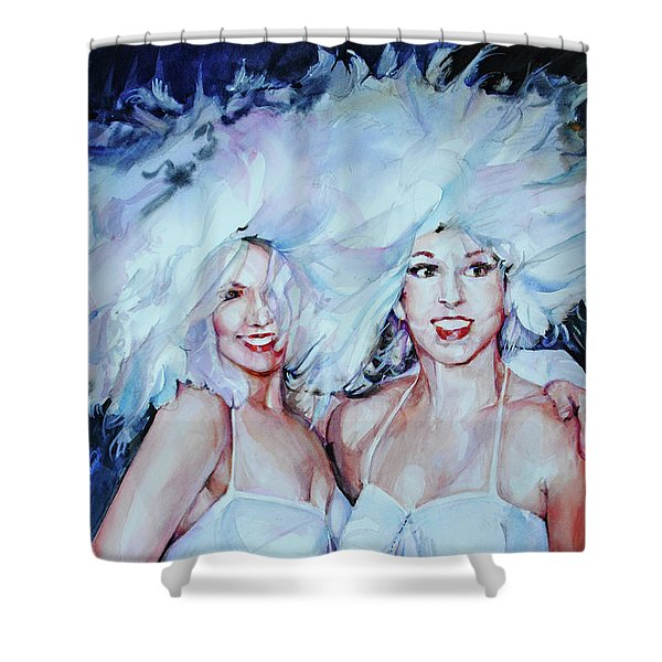 Plumage Shower Curtain