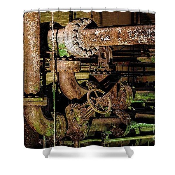Plumbing Shower Curtain