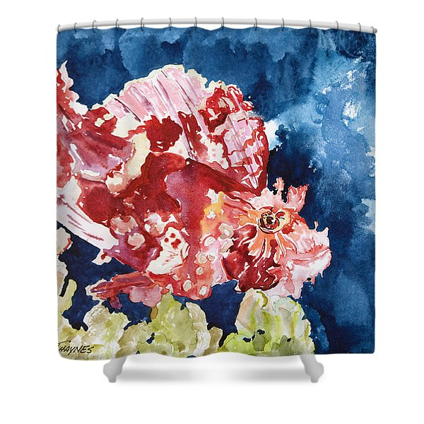 Png Leaf Fish Shower Curtain by Tanya L Haynes - Printscapes