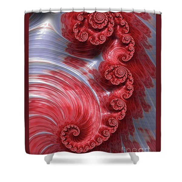 Poached Shower Curtain