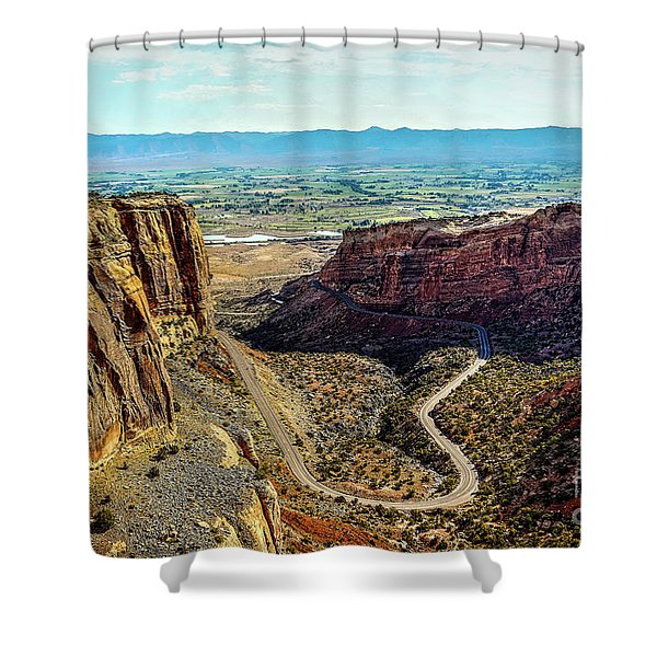 Pocket Size Grand Canyon Shower Curtain
