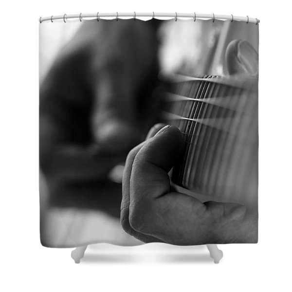 Poetry Of Sound Shower Curtain