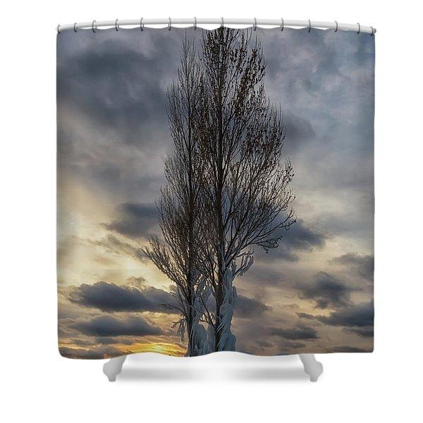 Point Betsie 14 Shower Curtain