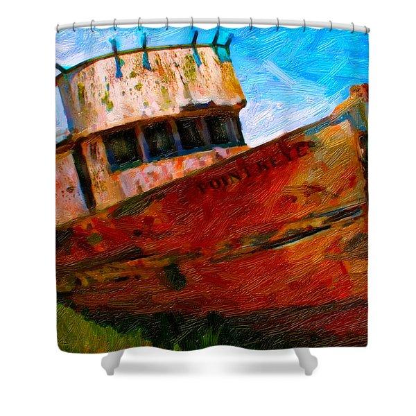 Point Reyes Shower Curtain