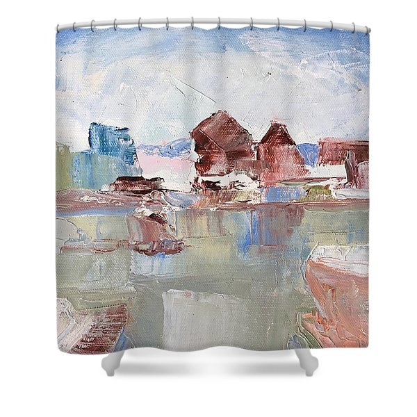 Point San Pablo 2 Shower Curtain