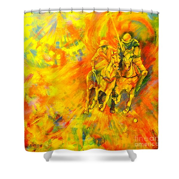 Poloplayer Shower Curtain