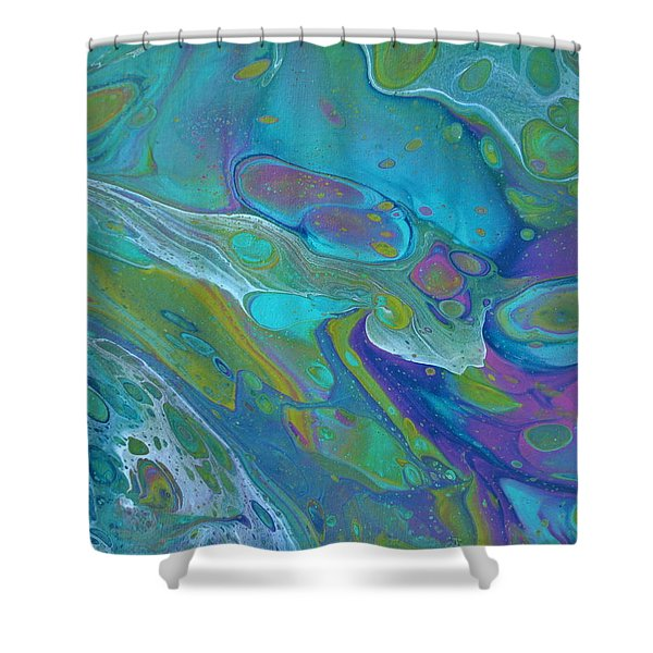 Pond 1 Shower Curtain