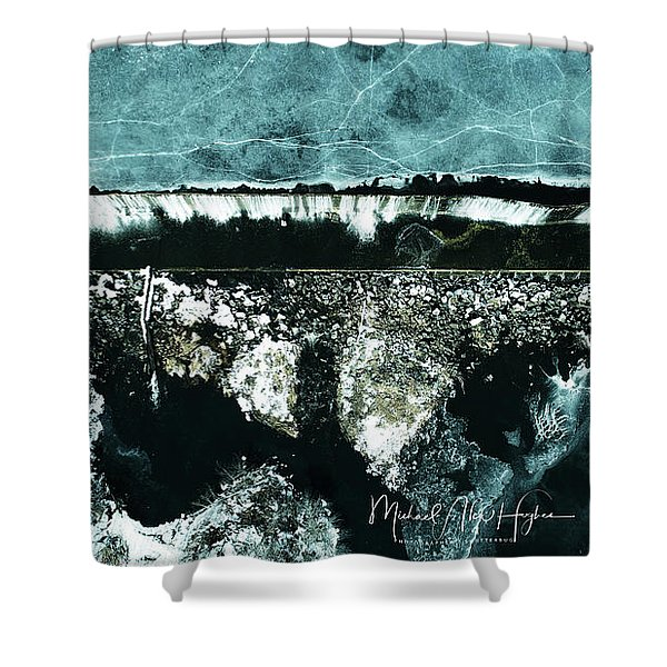 Ponemah Mill Dam Shower Curtain