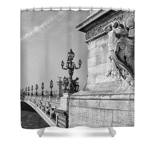 Pont Alexandre Shower Curtain